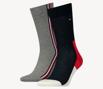 2er-Pack Iconic Baumwollmix-Socken