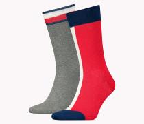 Doppelpack Crew-Socken