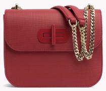 Crossbody-Tasche mit Drehverschluss