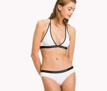 Triangel-Bikinioberteil mit Neckholder