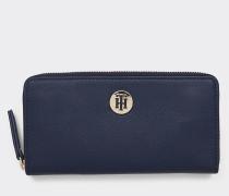 TH Classic Brieftasche mit Monogramm