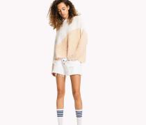 Pullover aus Baumwolle in Blockfarben