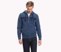 Reißverschluss-Hoodie mit Tommy Hilfiger-Logo