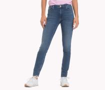 Santana Skinny Ankle-Grazer-Jeans