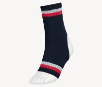 Yoga-Socken mit Tommy-Streifen