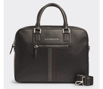Business Leather Laptop-Tasche
