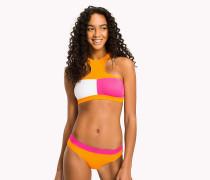Hochgeschlossener Bikini-Bustier