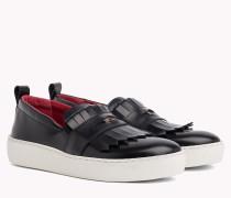 Penny Loafer-Sneaker mit Fransen