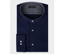 Slim Fit Hemd aus Oxford-Baumwolle