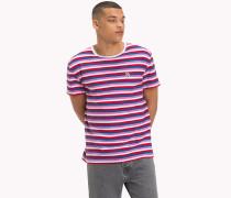 Gestreiftes Vintage-T-Shirt