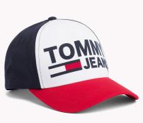Tommy Jeans-Cap aus Baumwoll-Twill mit Flock