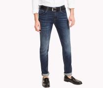 Slim Fit Jeans in Indigoblau