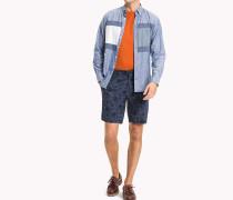 Straight Fit Shorts mit Print