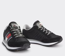 Retro-Sneaker mit Glitzer
