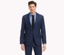 Slim Fit Blazer in Mikrostrick