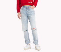 Slim Fit Jeans im Used Look