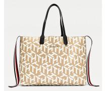 Iconic Tote-Bag mit Kontrast-Design