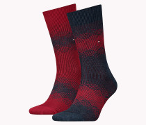 TH MEN FAIRISLE SOCK 2P