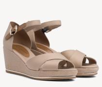 Sandale mit offenem Zehenbereich