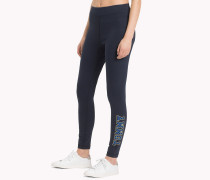 Athleisure-Leggings mit Logo