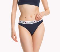 Brazilian-Slip mit Logo-Taillenbund