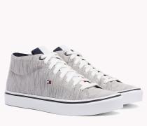 Mid-Top Sneaker aus Textil