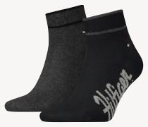 Doppelpack Branding-Socken