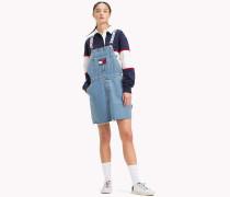 90s-Jeanskleid mit Latz