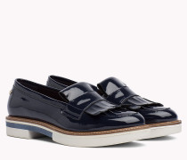 Penny Loafer in Lackleder
