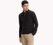 Langärmliges Slim Fit Poloshirt