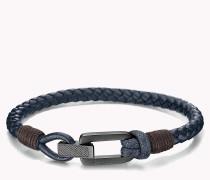 Geflochtenes Armband mit Faltschließe