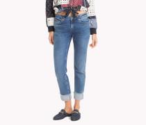 Jeans mit Krempelsaum
