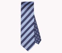 Krawatte aus Seide mit Streifen