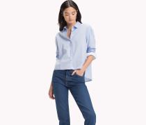 Regular Fit Hemd aus Popeline