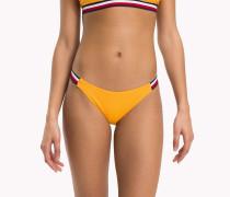Bikinihose mit seitlichem Branding