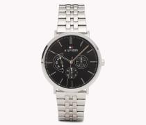 Dane Edelstahl-Armbanduhr