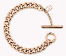 Rosévergoldetes Open-Link-Armband