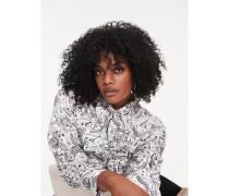 Zendaya Curve Bluse mit Sternzeichen-Print