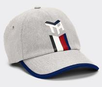 Canvas-Baseball-Cap mit Monogramm