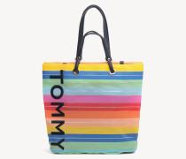 Tote-Bag mit mehrfarbigen Streifen