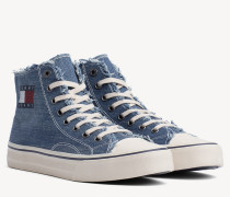 High-Top Jeans-Sneaker