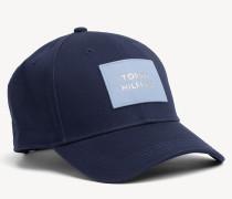 Baseball-Cap mit Leder-Logo