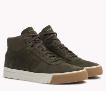 Sneaker aus Nubukleder
