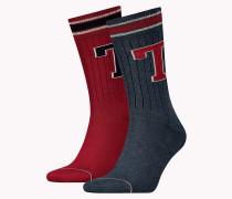 Doppelpack Socken mit Tommy Hilfiger-Patch
