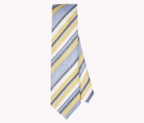 Krawatte aus Leinen und Seide