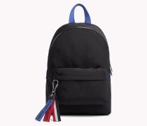 Kompakter Rucksack mit Tommy-Streifen