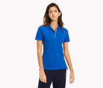 Poloshirt aus Bio-Baumwolle mit Stretch