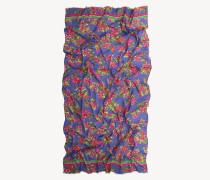 Schal mit Tropenprint