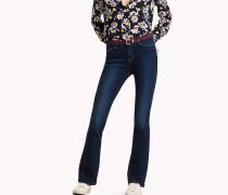 Slim Fit Bootcut-Jeans