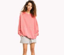 Oversized Sweatshirt aus Baumwolle